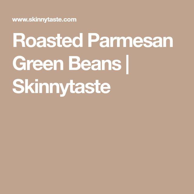 recipe: parmesan green beans skinnytaste [35]