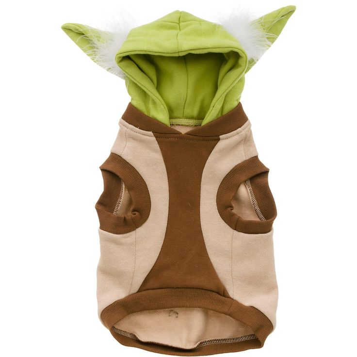 For Truman: Size Large STAR WARS Yoda Dog Hoodie -  - http://www.petco.com/shop/en/petcostore/star-wars-yoda-dog-hoodie