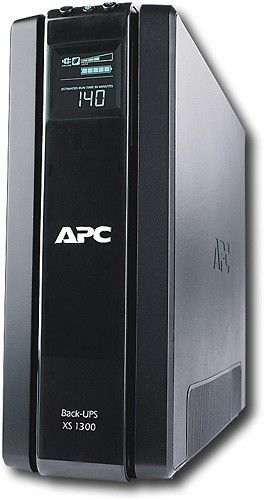 $60 OFF APC - Back-UPS XS 1300VA Tower UPS - Today Deals at BESTBUY:   $60 OFF APC - Back-UPS XS 1300VA Tower UPS - Today Deals at BESTBUY #TodayDeals #DailyDeals #DealoftheDay - APC Back-UPS XS 1300 VA Tower UPS - 1300VA/780W - 4.2 Minute Full Load - 5 x NEMA 5-15R - Battery Backup System 5 x NEMA 5-15R - Surge-protected. Read customer reviews and find great deals on Computers & Tablets Computer Accessories & Peripherals Surge Protectors & Power Battery Backup (UPS) at   BESTBUY…