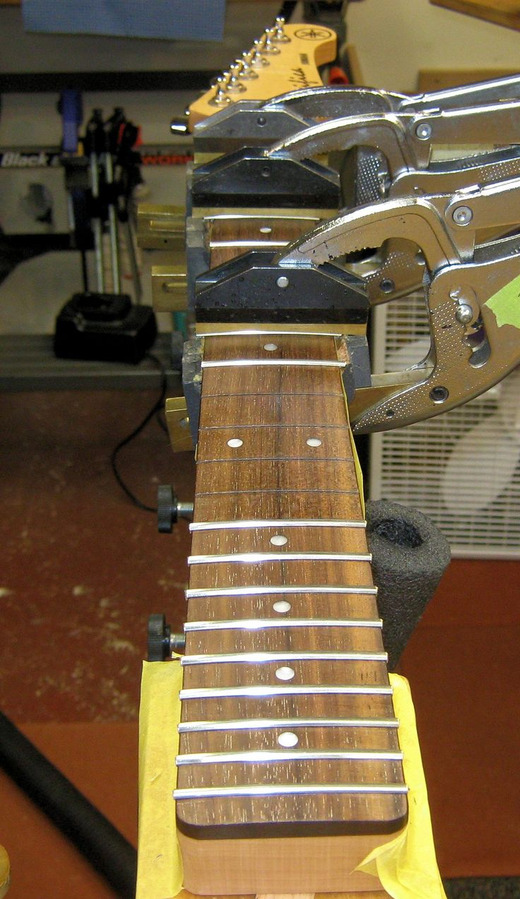 Dovetail template printable guitar - A Strat Style Guitar Installing Dunlop 6000 Tall Wide Frets