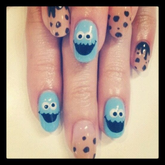 Koekie monster nagels