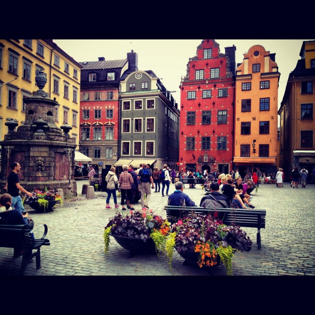 Gamla Stan (Old Town) is the historic heart of Stockholm. It is a favorite with tourists thanks to the appealing medieval streets and the many sights, in particular the Royal Palace.