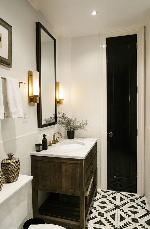 17 best ideas about black framed mirror on pinterest country style white bathrooms white framed mirrors and simple bathroom