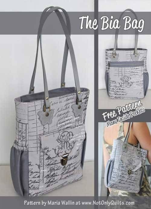 1026 best Bags and Purses - Sewing Patterns,Tutorials ... : free quilted purse patterns to sew - Adamdwight.com
