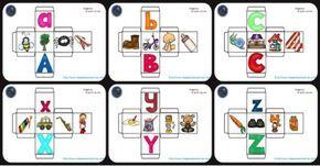 """MANIPULATIVO para aprender el ABECEDARIO completo """"Dados ABC"""" - Imagenes Educativas"""