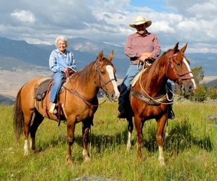 This would be so much fun! Cowboy cookout and horse back riding in yellowstone