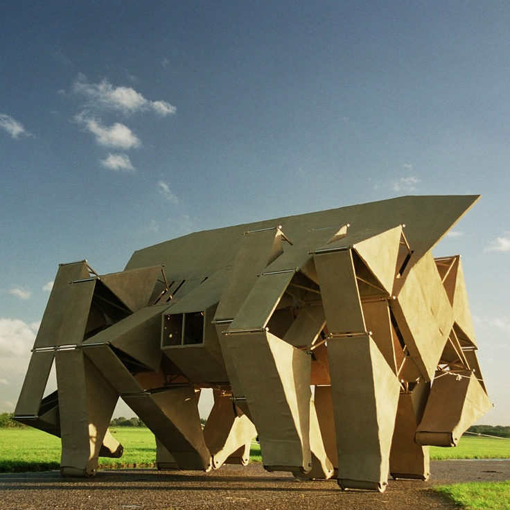Rhinoceros by Theo Jansen