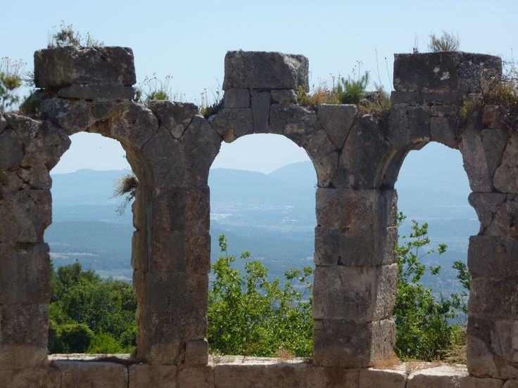 Old city Tlos Turkey