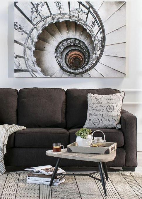 Alenya Charcoal Sofa. Charcoal SofaScaleLiving SpacesWeighing ...