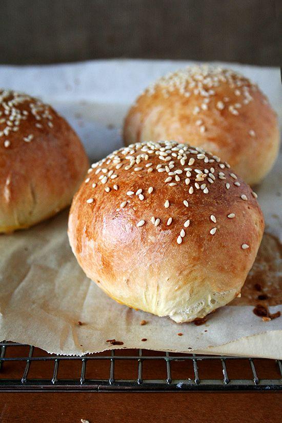 homemade burger buns   Food - Breads   Pinterest