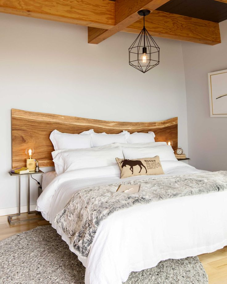 Photos: Todd Talbot's Master #Bedroom in Lions Bay - Western Living | #modernrustic