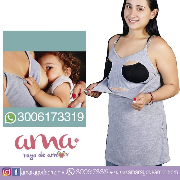 Camiseta Básica con broches maternos ideal para estar cómoda.   www.amarayodeamor.com Cel/Whatsapp:  +57 3006173319  #lactanciamaterna #ropalactancia #ropamaterna #posicioneslactancia #alimentacionlactancia #lactanciaprolongada #fraseslactancia #fotoslactancia #blusaslactancia #lactanciaaccesorios #amamantar #breastfeeding #embarazada #pregnant #brefiel #nursingwear #amarayodeamor #ama #Ama #babyshower #mamishower #futuramama #pregnat