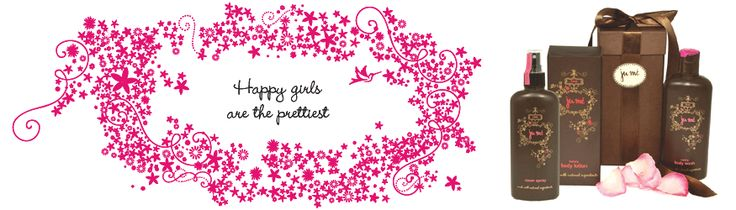 Ju'Me - Happy Girls are the Prettiest. The perfect spoil and gifts for any occasion. www.allurecosmetics.co.za