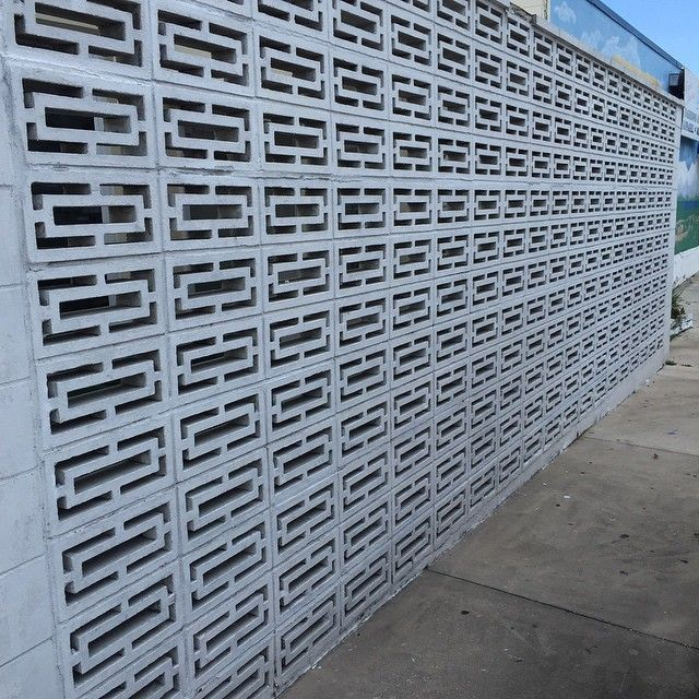 Architectural Screen Blocks : Best images about retro concrete wall screen designs