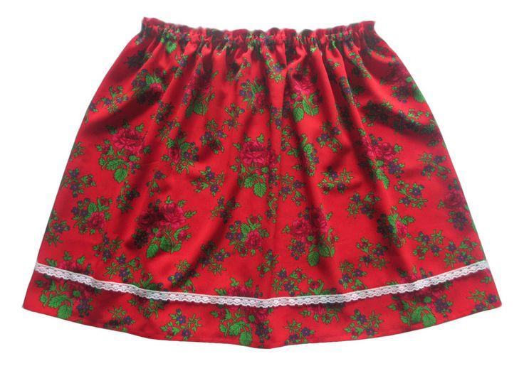 Spódnica damska regionalna  XS S M - Anetmoda - Eleganckie spódnice