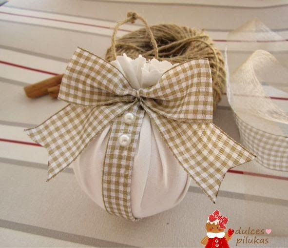 M s de 1000 ideas sobre adornos de navidad de tela en - Adornos de navidad de tela ...