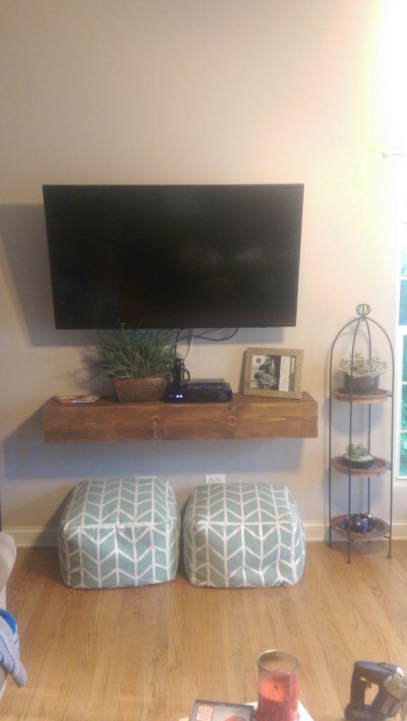 Floating Media Shelf Floating Shelves Living Room Floating Shelves Bedroom Living Room Tv Wall