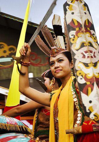 Dayak Tribe of Central Kalimantan