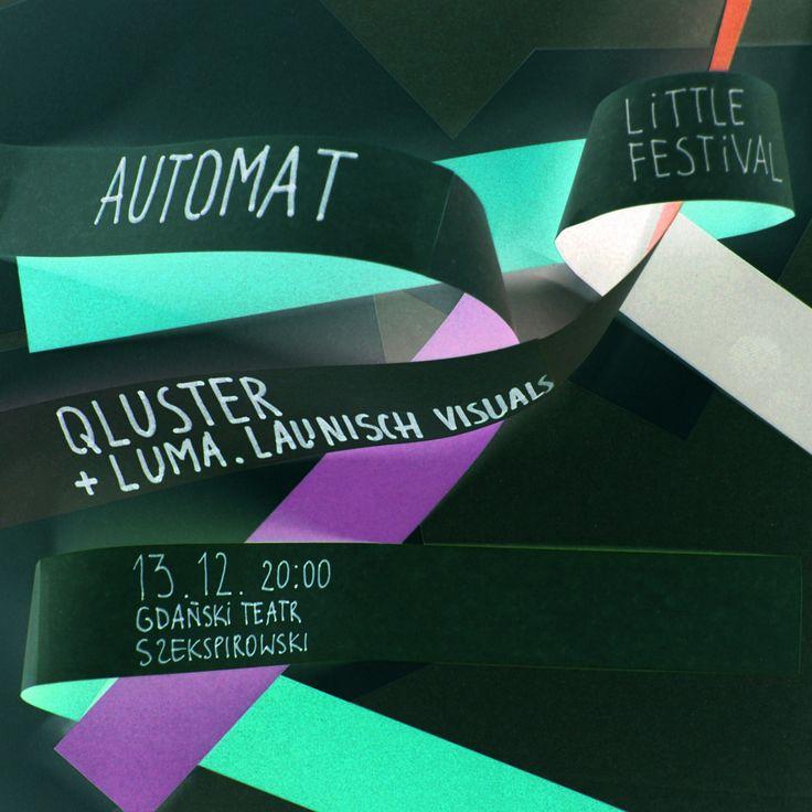 """kwadrat trzeci z trzech, na kilka dni, prawie tuż tuż przed Little Festivalem. Na zamknięcie tego """"małego"""" festiwalu czekają nas dwie polskie premiery: Automat oraz Qluster wspierany przez..."""