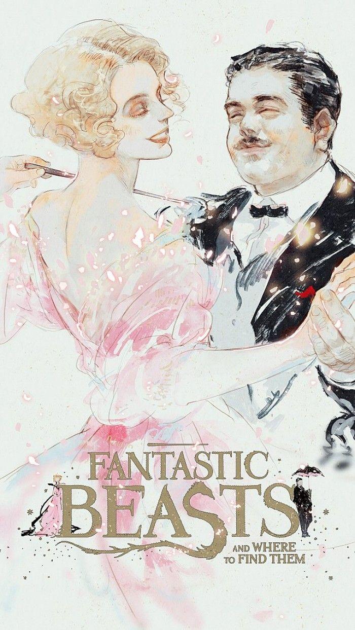 Fanarts et crossover : Les Animaux Fantastiques Harry Potter Les Gardiens De La Galaxie