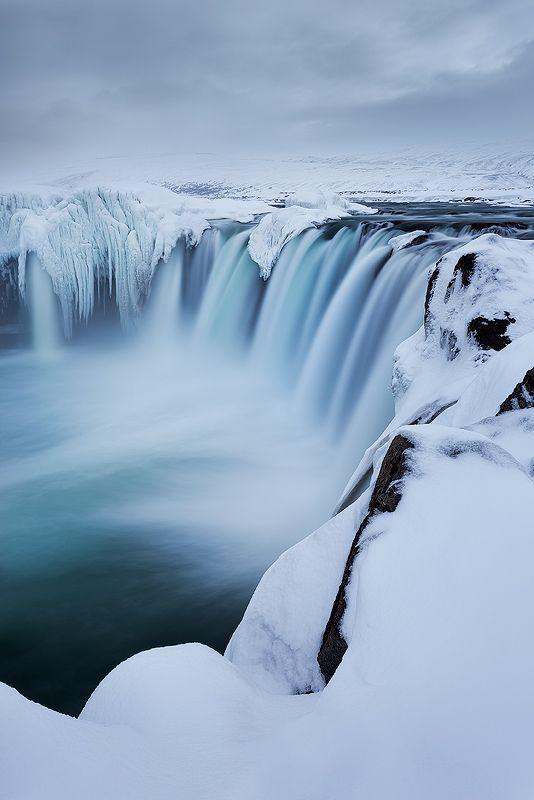Godafoss, Islande.