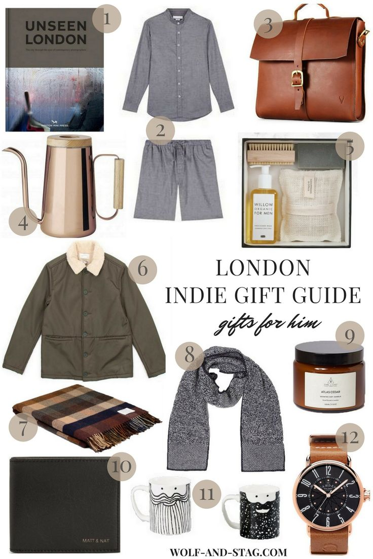 Holiday Gifts for Him, featuring the best of independent makers, brands & retailers from London   Wolf & Stag