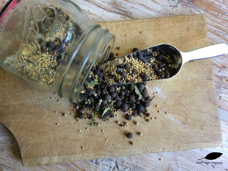 Make your own pickling spice. So simple, easy, and delicious!! winter sage company