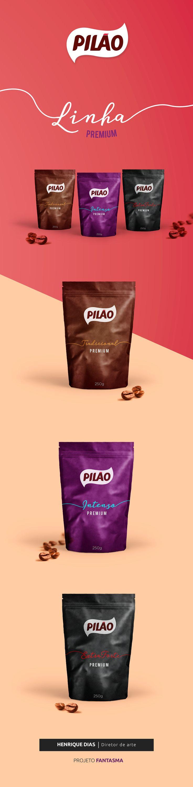 Café Pilão - Embalagem Premium on Behance