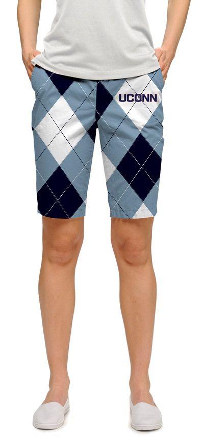 UConn Huskies Ladies Bermuda Shorts