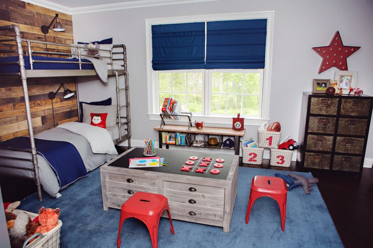 RH Baby & Child Industrial-Vintage Boy's Room Makeover - Project Nursery