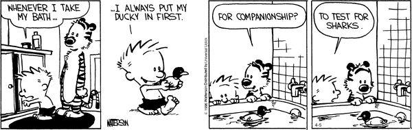 Calvin and Hobbes 4/5/16