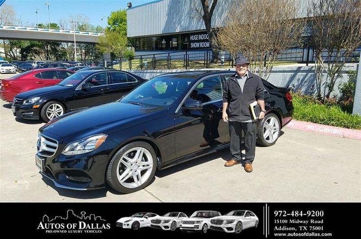https://flic.kr/p/EVJJ8z | Congratulations Tomas on your #Mercedes-Benz #E-Class from George Ondarza at Autos of Dallas! | deliverymaxx.com/DealerReviews.aspx?DealerCode=L575