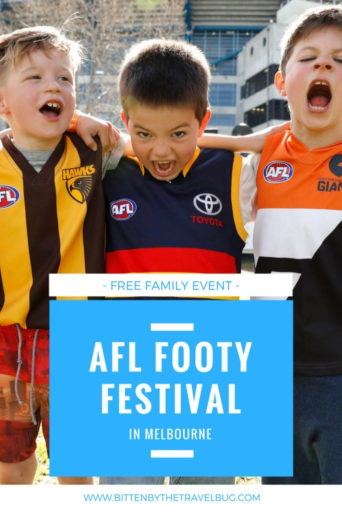 It's the last Saturday in September, and that means AFL Footy Fever has hit Melbourne. To get footy fans of all ages revved up before the big game the AFL is hosting the Toyota AFL Footy Festival in Yarra Park, Melbourne. Click on the post to read more about what's happening and how to experience the atmosphere of the AFL Grand Final even without going to the game!