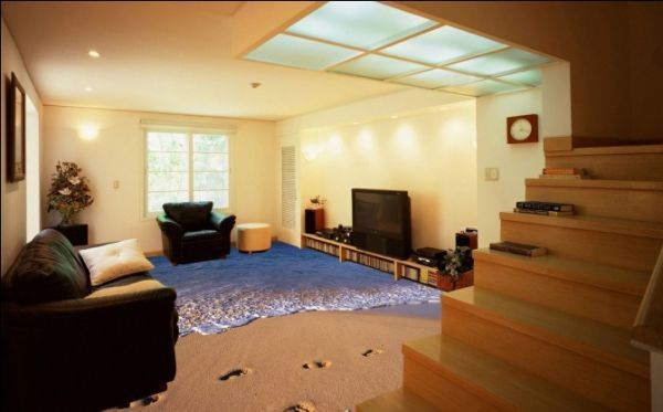 ocean-themed floor coverings - Dubai is known for its over the top creative architecture and design innovations and these ocean-themed floor coverings are no different.   Created...