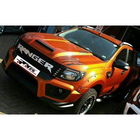 Ford Ranger Wildtrak Raptor Kits Available Now At Tttrautoupgrade