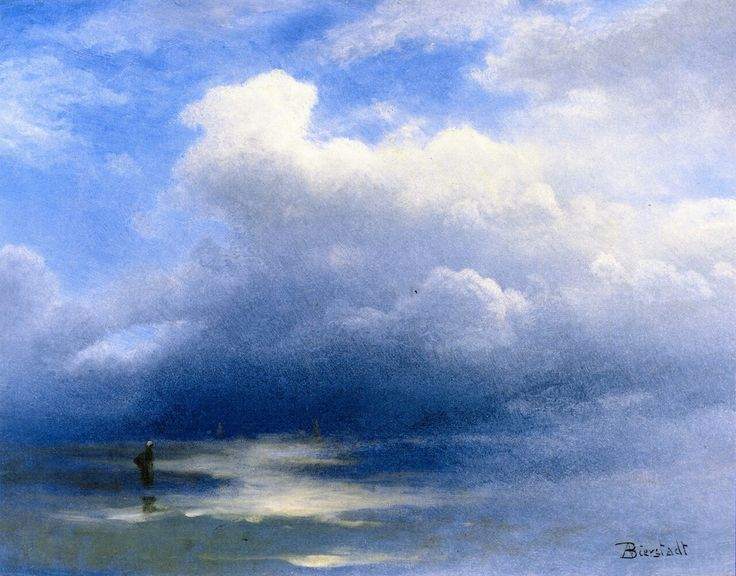 Albert Bierstadt - Sea and Sky - Undated, but earlier than 1902