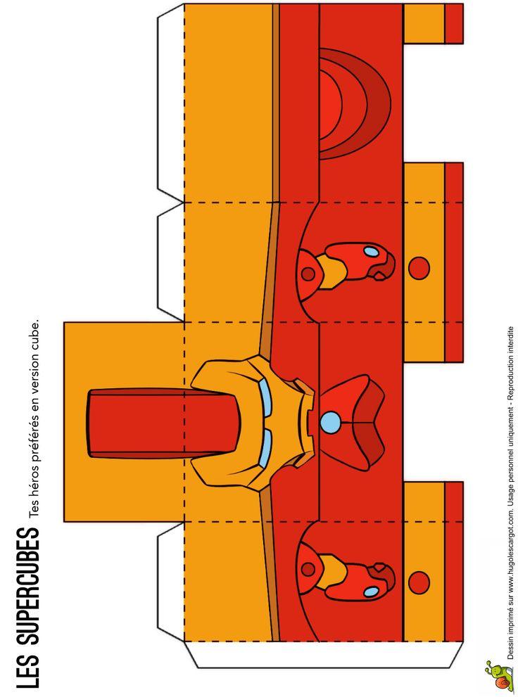 http://www.hugolescargot.com/decoupages/les-super-cubes-tes-heros-favoris-tout-carre.html