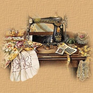 .: Printable, Sandy Lynam, Vintage Sewing Machine, Sewing, Old Sewing Machine, Crosses Stitches, Sewing Rooms, Decoupage, Crafts