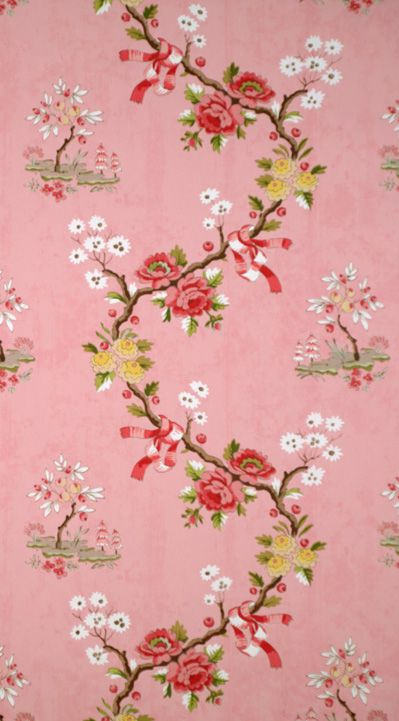 Floreale chinoiserie wallpaper