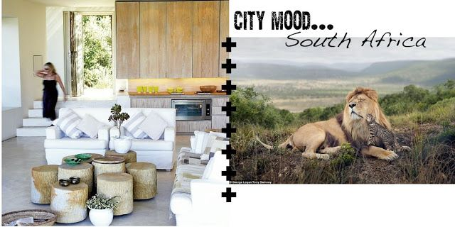 Méchant Design: city mood : out of Africa