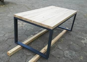 Stół industrial LOFT dąb jesion