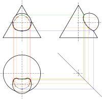 Geometria descritiva – Wikipédia, a enciclopédia livre