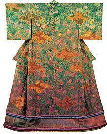 Itchiku Kubota kimono. An extraordinary artist. Visit the Itchiku Kubota museum in Yamanashi, Japan if you can. You will be amazed.