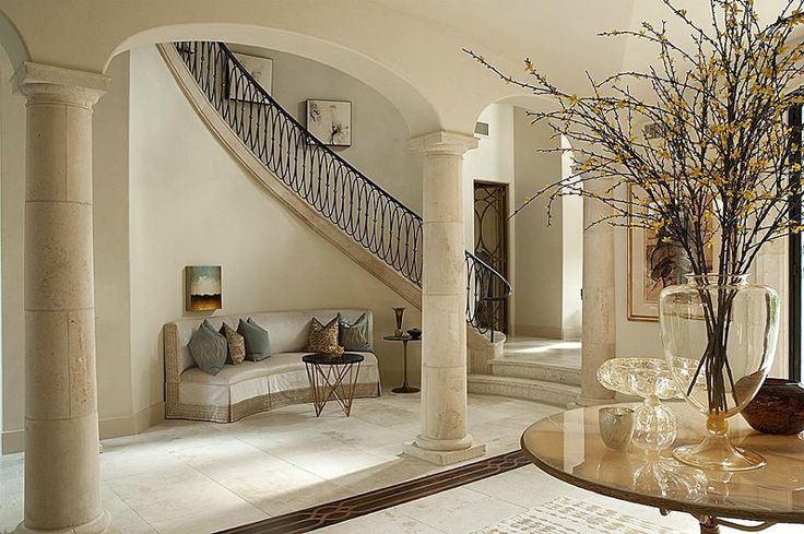 Beautiful foyer foyers pinterest for Beautiful foyer pictures