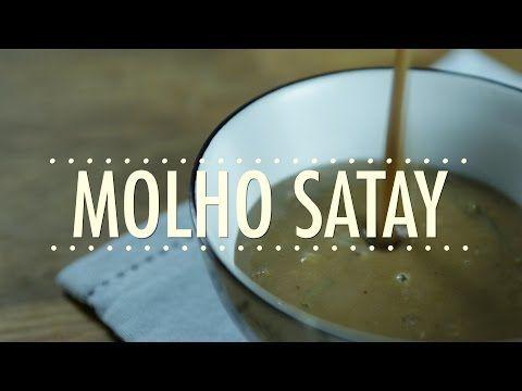 Receita de Molho Satay (Molho Vietnamita/Tailandês de Amendoim) em vídeo | Gourmet a Dois