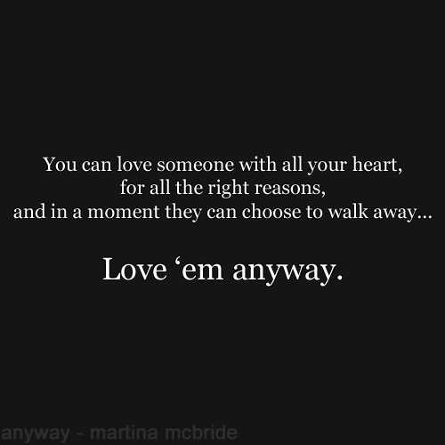 Anyway ~ Martina McBride