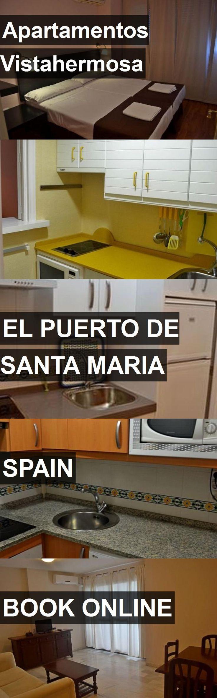 Hotel Apartamentos Vistahermosa in El Puerto de Santa Maria, Spain. For more information, photos, reviews and best prices please follow the link. #Spain #ElPuertodeSantaMaria #travel #vacation #hotel