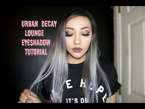 Urban Decay Lounge Tutorial !! - YouTube