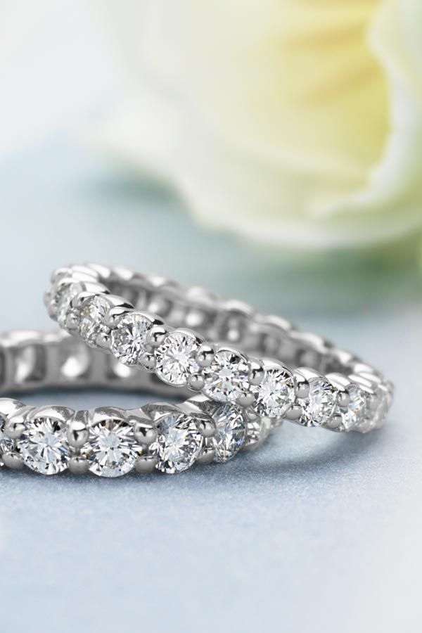 The perfect wedding band for my perfect wedding (the small one would compliment with my perfect engagement ring)! #BlueNile #SMP #MyPerfectWedding