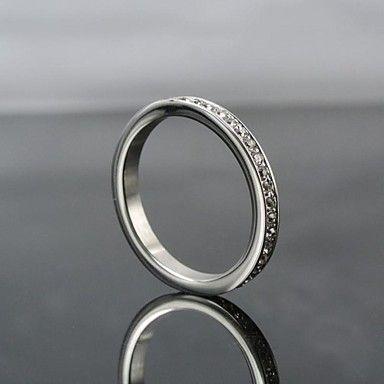 de lujo de las mujeres brillan llenos cúbicos anillos de piedras zirconia (Compre 1 lleve 2 regalos gratis) – USD $ 13.99